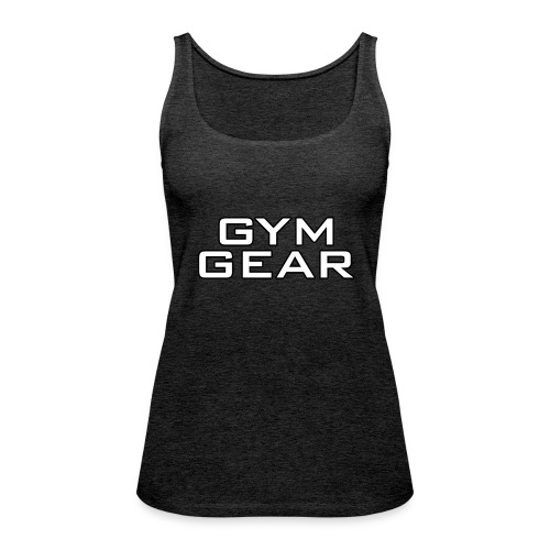 Gym GeaR - Women's Premium Tank Top