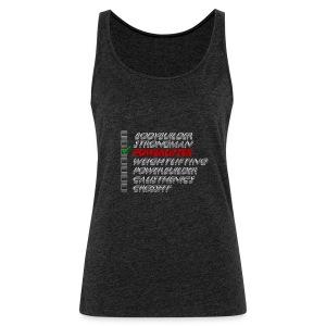 Powerlifter - Vrouwen Premium tank top