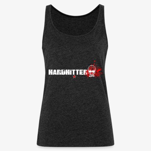 Hardhitter Logo für dunklen Hintergrund - Frauen Premium Tank Top