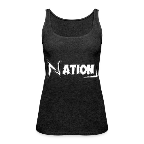 Nation Logo Design - Women's Premium Tank Top