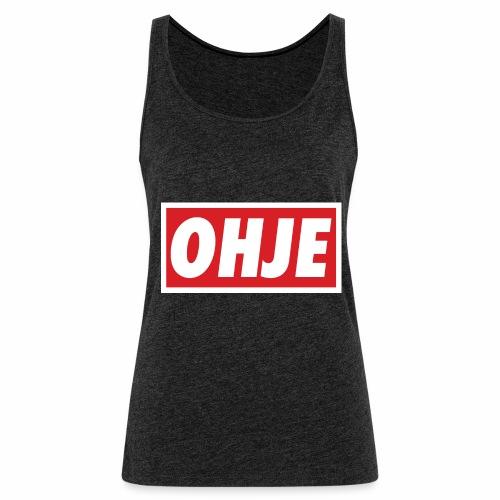 Ohje Obey - Frauen Premium Tank Top