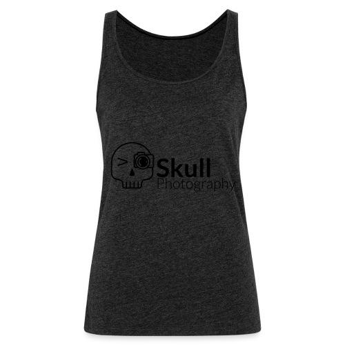 Skull_Photography_Logo_black - Frauen Premium Tank Top
