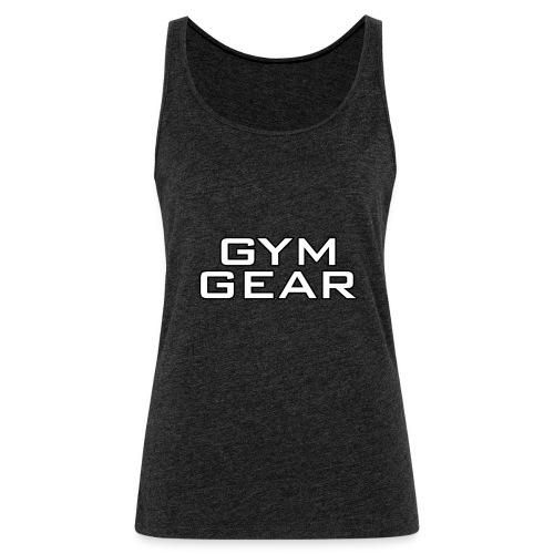 Gym GeaR - Women's Premium Tank Top