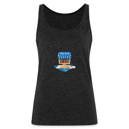 desarrollo-tienda-online-virtual - Camiseta de tirantes premium mujer