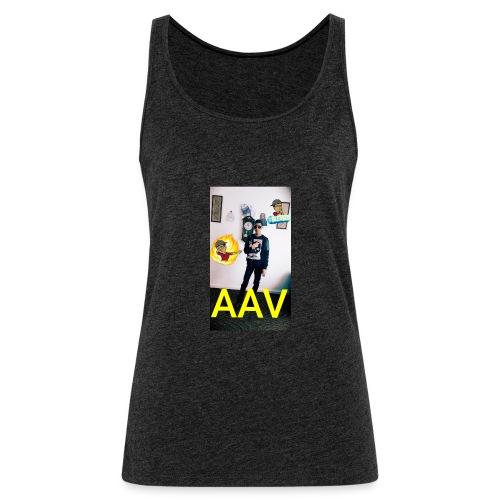 Adam Ali Vlogs Design 1 - Women's Premium Tank Top
