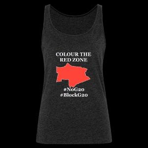 Colour the red Zone - Frauen Premium Tank Top