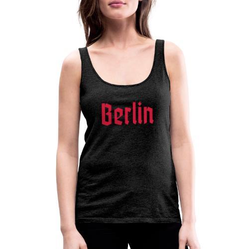 BERLIN Fraktur - Frauen Premium Tank Top