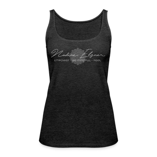 Logo empower be mindful feel png - Frauen Premium Tank Top