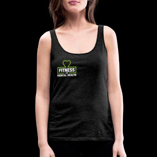 Fitness for Mental Health - Women's Premium Tank Top