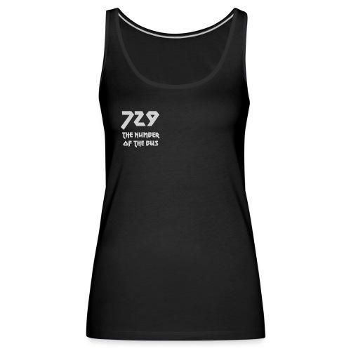 729 grande grigio - Canotta premium da donna