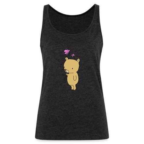 Baby Bär mit Blume - Frauen Premium Tank Top