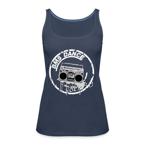 BMS Dance grey - Vrouwen Premium tank top