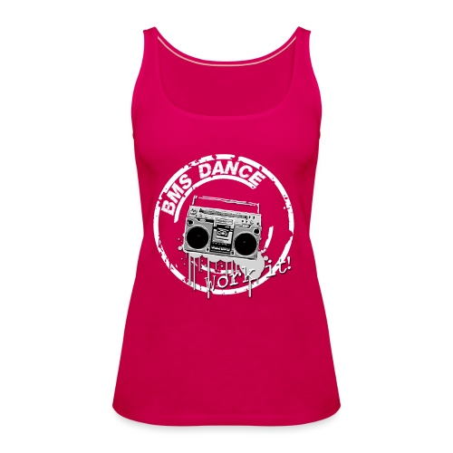 BMS Dance grey - Vrouwen Premium tank top
