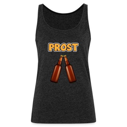 Prost Bier Flaschen - Frauen Premium Tank Top