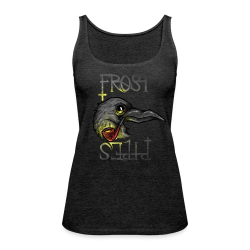 Frost Pipes Crow - Women's Premium Tank Top