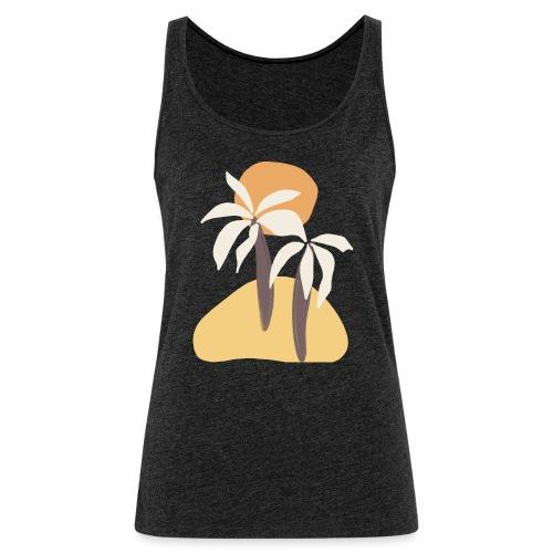 Minimal tropics - Canotta premium da donna