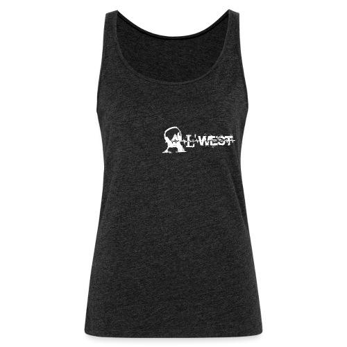 logo alwest blanc - Débardeur Premium Femme