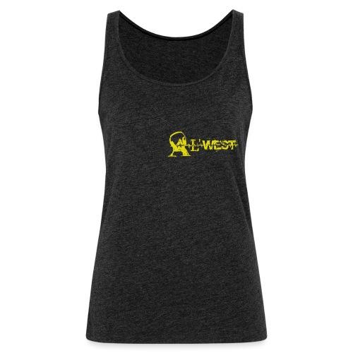logo alwest jauneorange - Débardeur Premium Femme