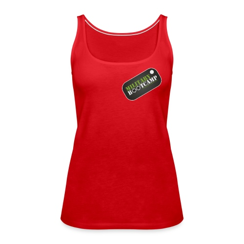military bootcamp - Women's Premium Tank Top