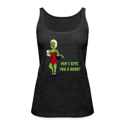 give a hand - Women's Premium Tank Top