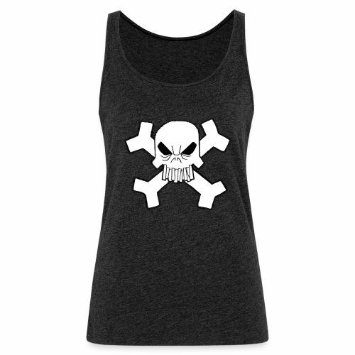 Craneo - Camiseta de tirantes premium mujer