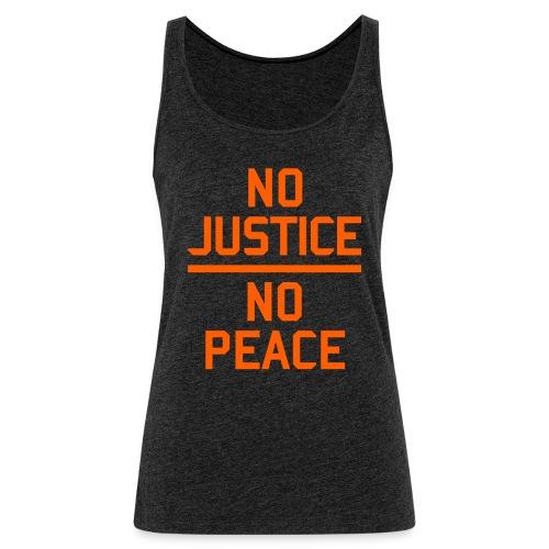 No Justice No Peace Protest - Frauen Premium Tank Top