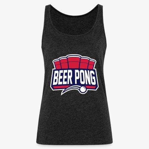 Beer Pong Logo IX - Frauen Premium Tank Top