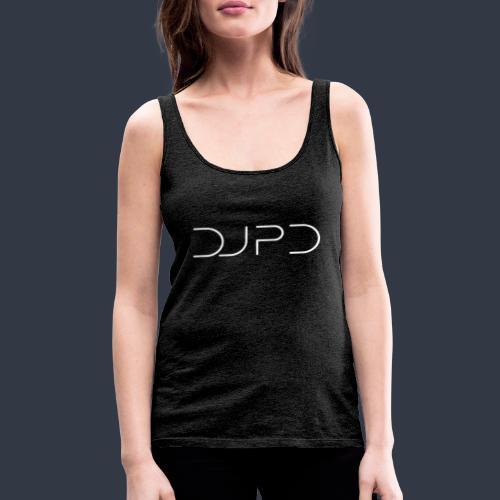 DJ PD white - Frauen Premium Tank Top