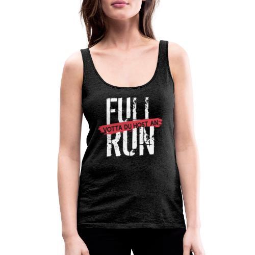 Full Run - Frauen Premium Tank Top
