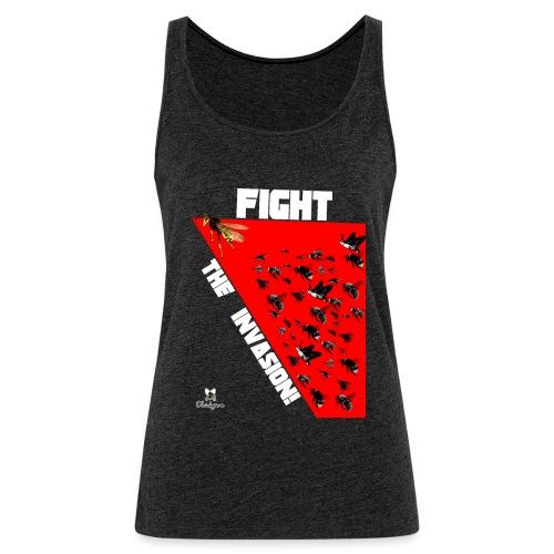 FIGHT THE INVASION - Camiseta de tirantes premium mujer
