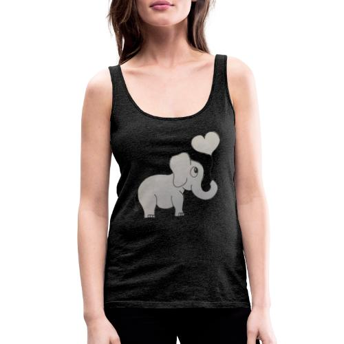 LackyElephant - Frauen Premium Tank Top
