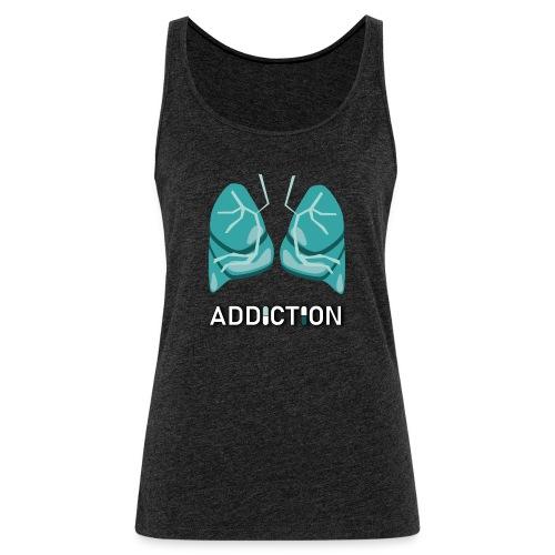 Addiction - Lungs - Premiumtanktopp dam