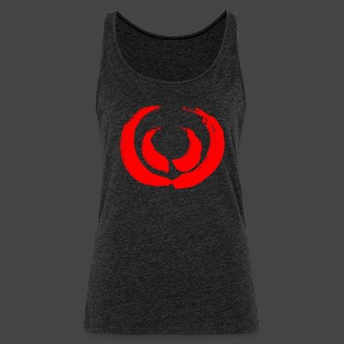 Gewaff-Shirt Blutpinsel - Frauen Premium Tank Top