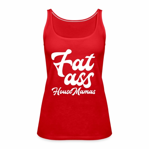 fatasswhite - Naisten premium hihaton toppi