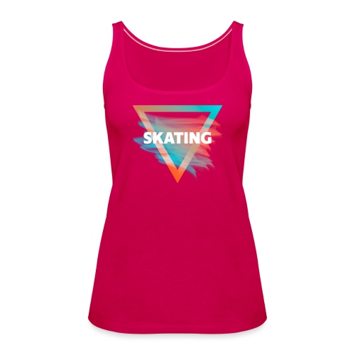 Skating Diffus - Frauen Premium Tank Top