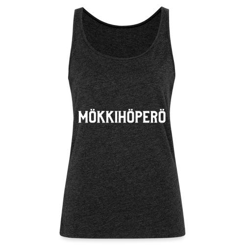 mokkihopero - Naisten premium hihaton toppi