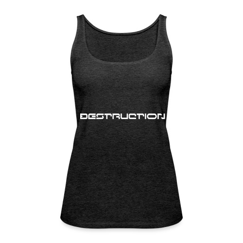 DESTRUCTIONRECORDS T/B - Débardeur Premium Femme