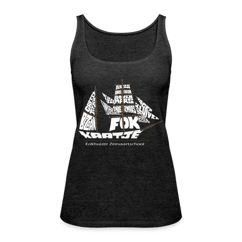 EZS T shirt 2013 Back - Vrouwen Premium tank top