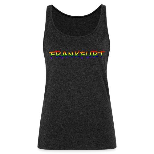 Frankfurt Rainbow #1 - Frauen Premium Tank Top