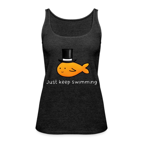 HAT FISH - Women's Premium Tank Top