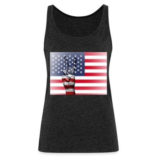 USA - Frauen Premium Tank Top