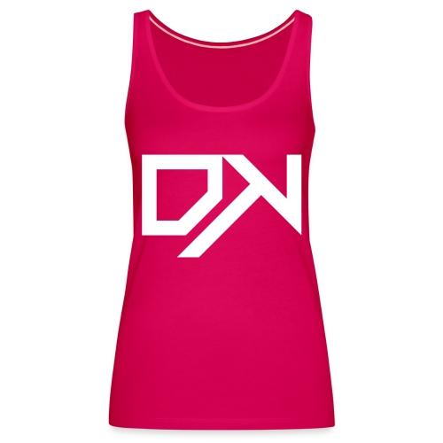 DewKee Logo Cap White - Women's Premium Tank Top