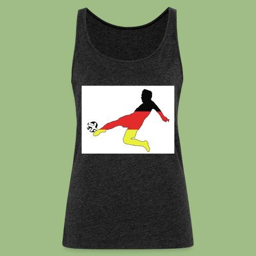 Mario Götze. Germany World Cup Winners - Premiumtanktopp dam