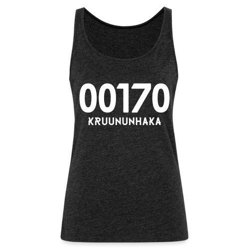 00170 KRUUNUNHAKA - Naisten premium hihaton toppi