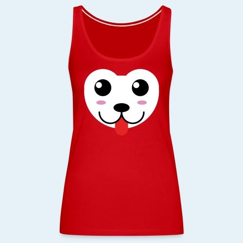 Husky perro bebé (baby husky dog) - Camiseta de tirantes premium mujer