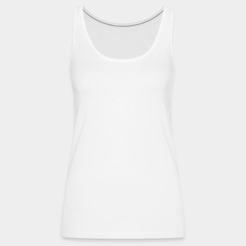 SAPHERA LOGO WHITE TRANS - Vrouwen Premium tank top
