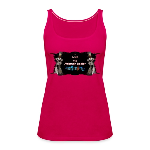 Airbrush Dealer - Frauen Premium Tank Top