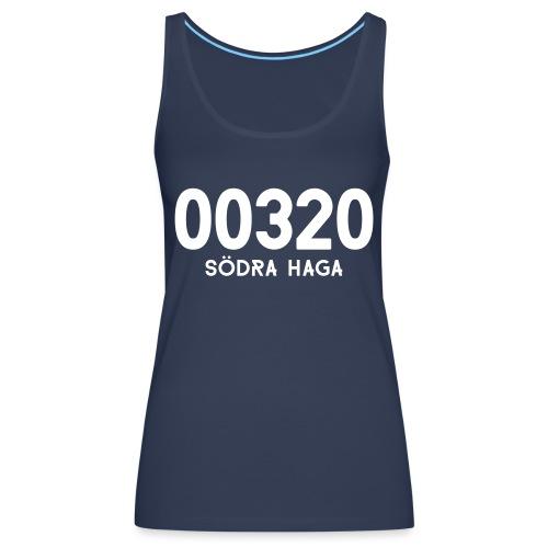 00320 SODRAHAGA - Naisten premium hihaton toppi