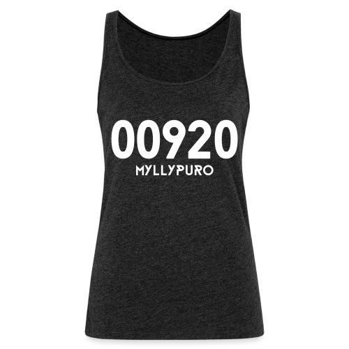 00920 MYLLYPURO - Naisten premium hihaton toppi