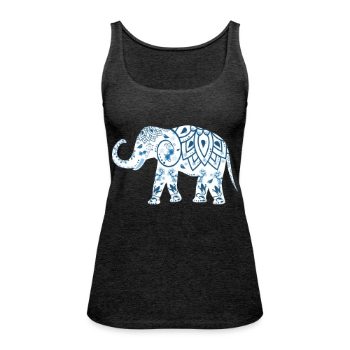 elefant - Frauen Premium Tank Top